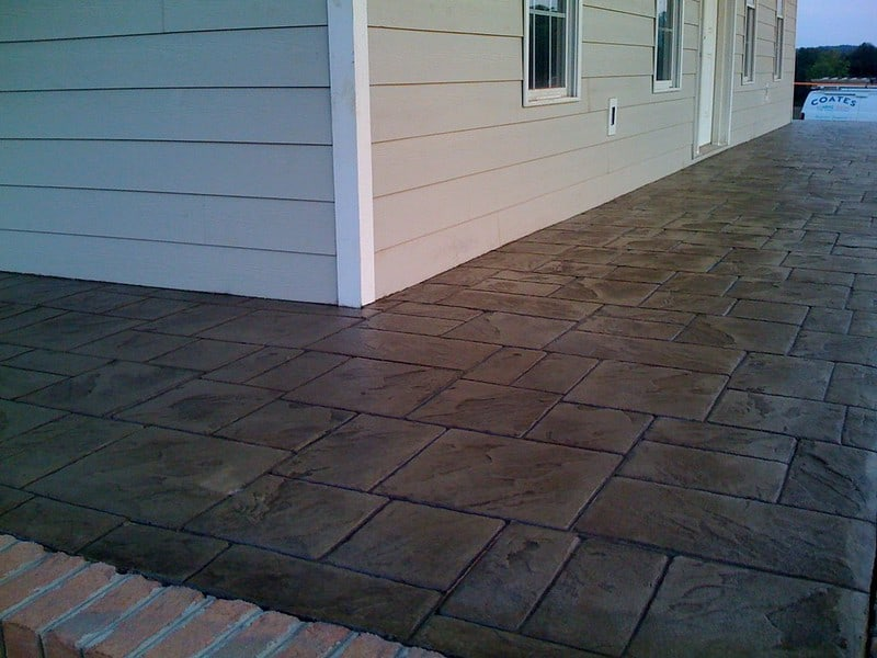 4 Stamped Concrete