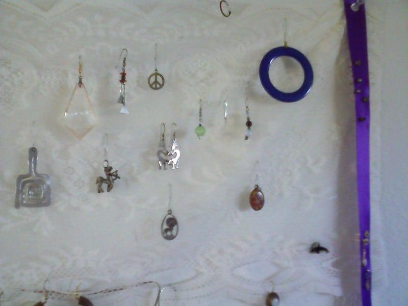 6 Cork Board Jewelry Storage
