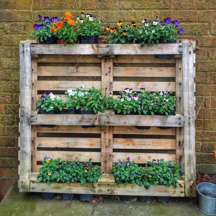 6 Wood Pallet Planter