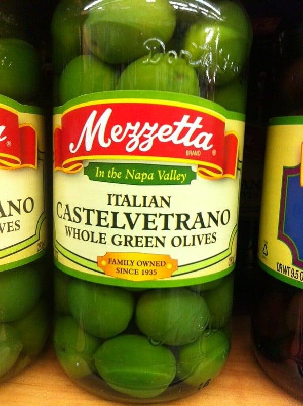 7 Nocellara Del Belice Olives