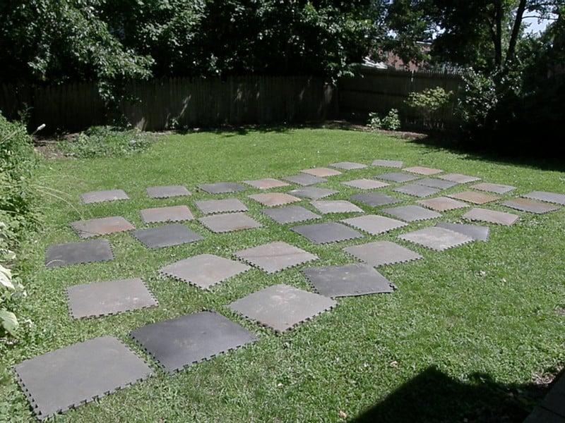 7 Rubber Tiles