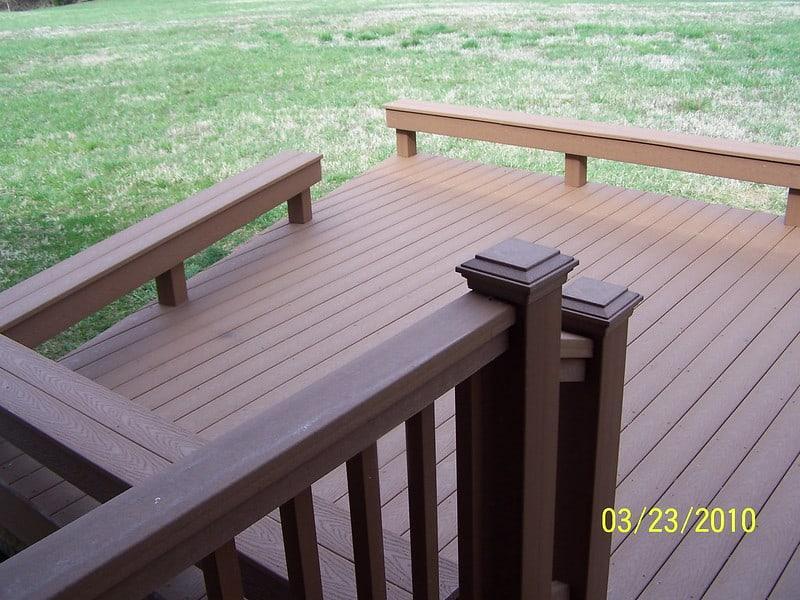 9 No Railing Deck