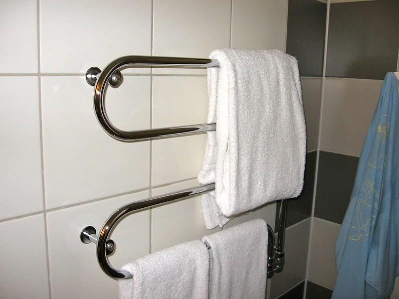9 Shower Towel Rack