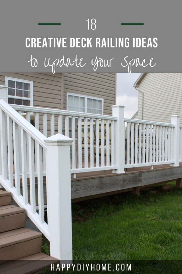 Deck Railing Ideas 1
