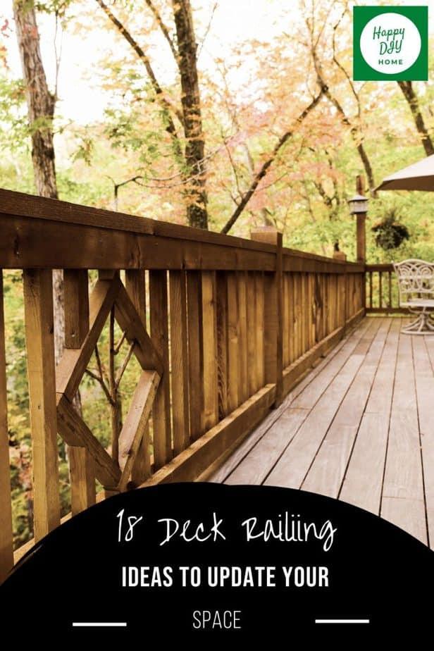 Deck Railing Ideas 2