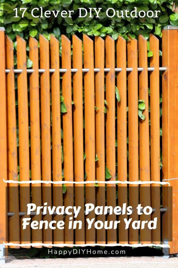 Outdoor Privacy Panel 1