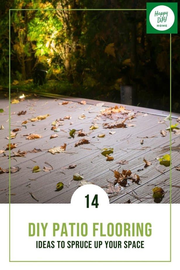 Patio Flooring 1