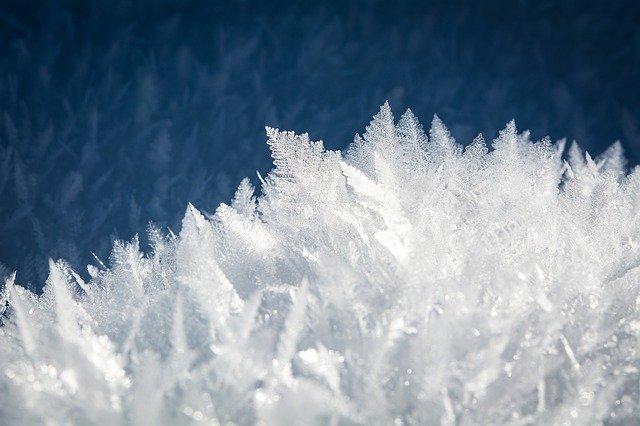 1. Frost Closeup