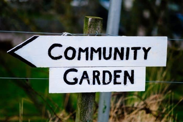 1. community garden